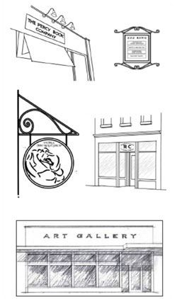 Drawings of Signs