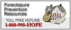 Foreclosure Prevention Resources website
