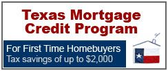Texas Mortgage Credit Program For First Time Homebuyers website